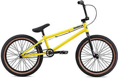 SE Hoodrich BMX - Bicicleta para hombre, talla 20, color amarillo: Amazon.es: Deportes y aire libre