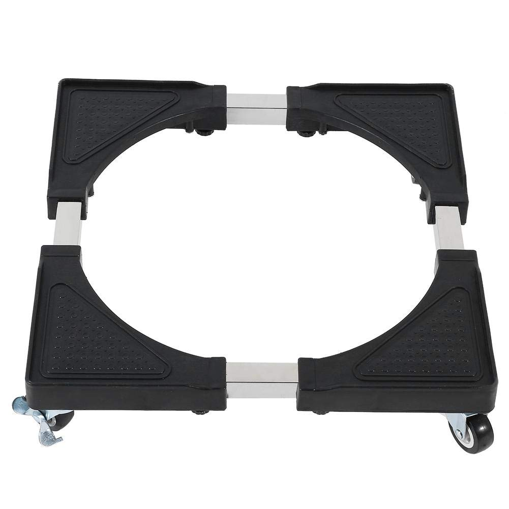 B07R66DT39 Washing Machine Base, 42-96cm Movable Adjustable Base Bracket 4 Feet with Even Weight Distribution for Washing Machine Refrigerator 51XWiNma5cL._SL1001_