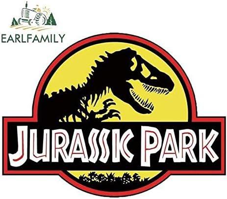 A//X 43 cm x 42,7 cm f/ür Jurassic Park Zeichen Cartoon lustige Autoaufkleber wasserdicht Anime Sto/ßstange Kofferraum LKW Grafik Aufkleber Links
