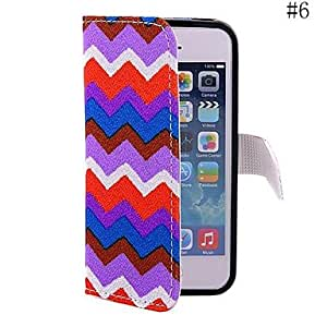 PEACH Nice The Wave Pattern Cloth Mobile Phone Holster Case for iPhone5/5s(Assorted Color) , 4