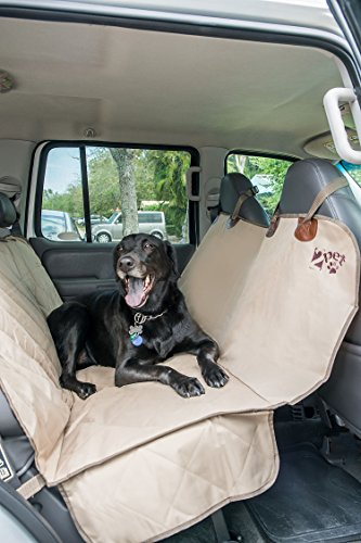 How Do Fog Machines Work (2PET Quilted Deluxe Truck Seat Cover for Dogs, cats or other beloved pets - Waterproof Non-Slip Protection Backseat Cover for your Car, Truck, Minivan or SUV by 2PET. Nutmeg Khaki)