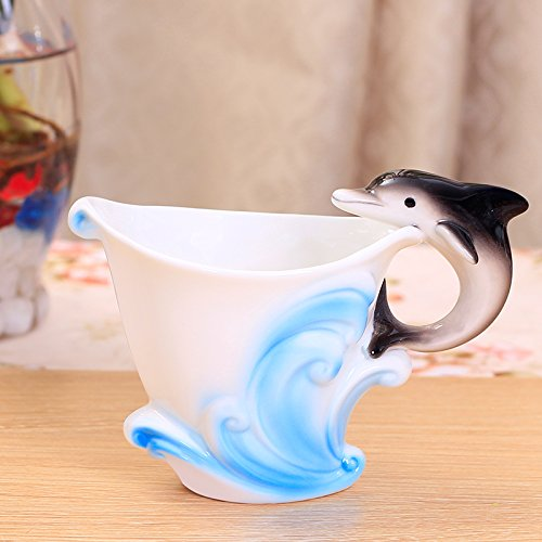 European style bone China ceramic coffee creative Cup English afternoon tea red tea
