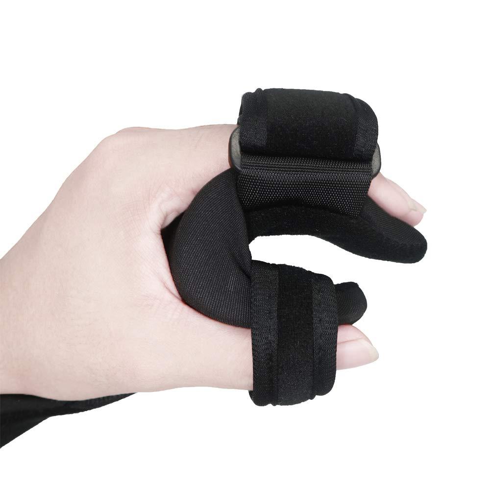 Soft Resting Hand Splint Night Wrist Splint Support Immobilizer Finger Wrist Fracture Fixation Scaffold for Pain Tendinitis Sprain Fracture Arthritis Dislocation (Right) by Furlove (Image #4)