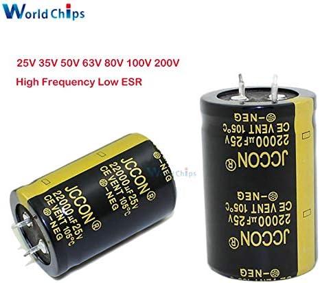 5pcs 63V 4700uF 4700MFD 105C Aluminum Electrolytic Capacitor 22×40mm