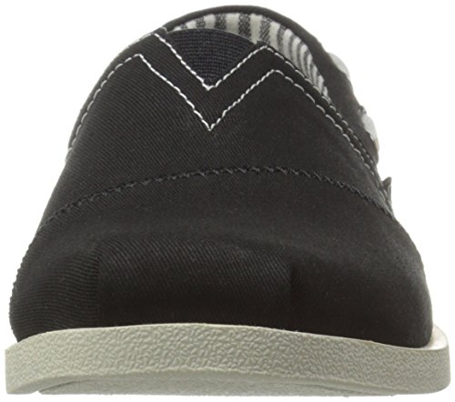 BOBS from Skechers Womens Chill Luxe Flat Black/White 18cfDKk