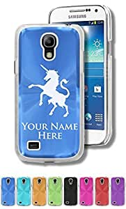 Personalized Case/Cover for Samsung Galaxy S4 Mini - UNICORN - Engraved for FREE