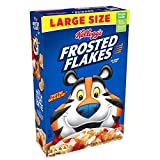 Kellogg's Fat-Free Breakfast Cereal, Frosted Flakes, 19.2 Ounce
