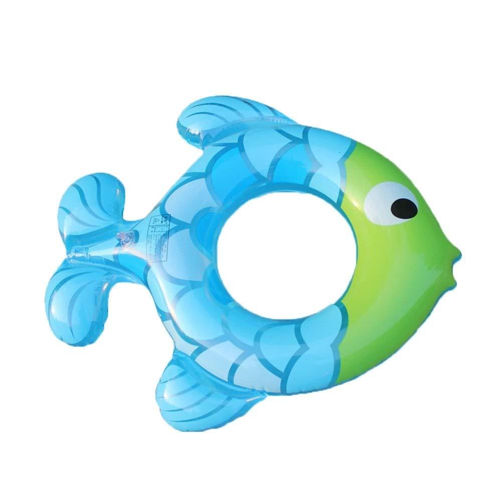 Círculo de natación creativa Agua Inflable Forma de Pescado ...