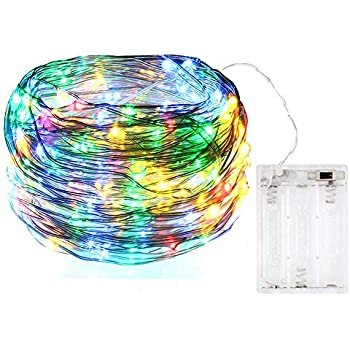 Bolweo Colorful Battery Powered Led String Lights Battery