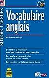 Bordas langues : Vocabulaire anglais