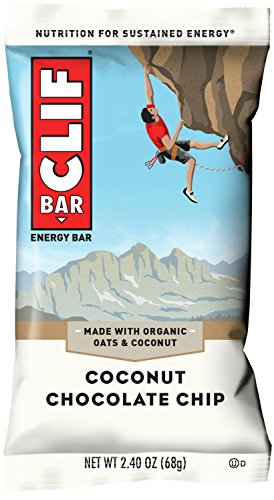 CLIF BAR - Energy Bar - Coconut Chocolate Chip 2.4 - Clif Chip Chocolate Bar Coconut