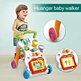 Toy, Play, Game, Huanger Baby stroller Sit&Stand Learning Walker Multifunction Outdoor Toy Ride On Car Stokke/Baby Carriage with Wheel Kid Gift, Kids, Children