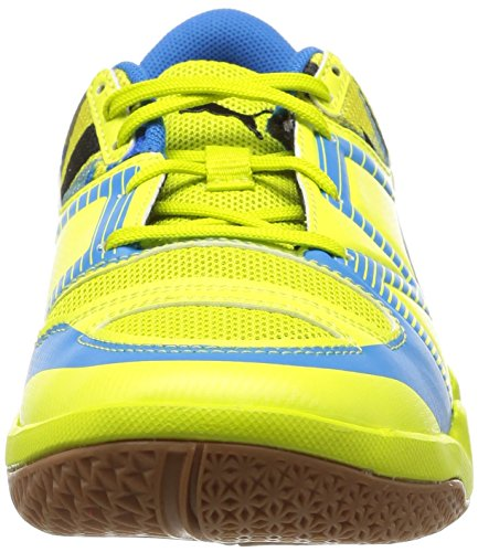 Puma evoIMPACT 5 Jr - Zapatillas deportivas para interior de material sintético Niños^Niñas amarillo - Gelb (sulphur spring-black-cloisonné 01)