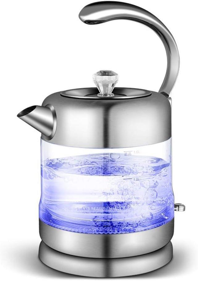 ZXYY Hervidor de Vidrio eléctrico hervidor de Agua