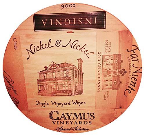 Artisan Lazy Susan Original Napa/francés vinos 20