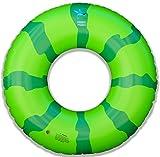 Freshy Fresh Brand Watermelon Pool Float, Large Inflatable Swim Ring, Innertube, 4 Feet Wide