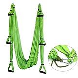 YaeTact Aerial Yoga Swing - Ultra Strong Antigravity Yoga Hammock/Sling/Inversion Tool for Air Yoga Inversion Exercises