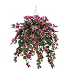 House-of-Silk-Flowers-Artificial-Mini-Pink-Bougainvillea-in-Beehive-Hanging-Basket