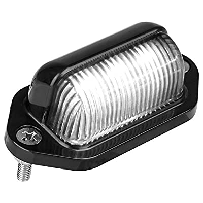 Lumitronics RV 12V LED License Plate Light/Convenience Courtesy Light: Automotive
