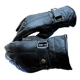 AlexVyan New Black Winter and Riding Gloves Black – 1 Pcs