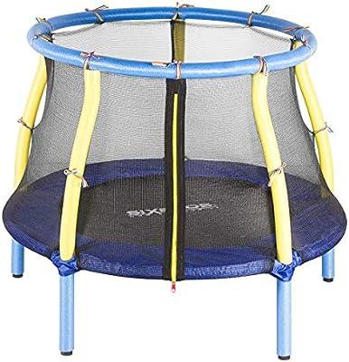 SixBros. SixJump 1,22 M Cama elástica de jardín Azul TB122/8066: Amazon.es: Deportes y aire libre