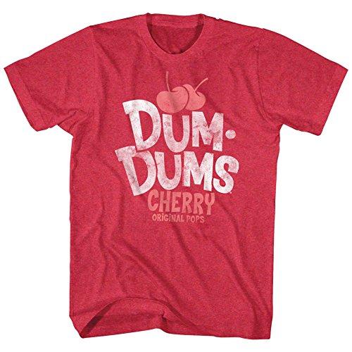Sucette Pops Bonbons Rouge Homme De Pour Original American Cerise shirt Classics Tee Sucre Dum 1XOx04