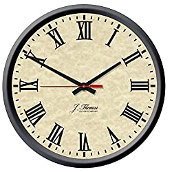 Tesla Electric Wall Clock by J. Thomas 13 - Made in the USA!