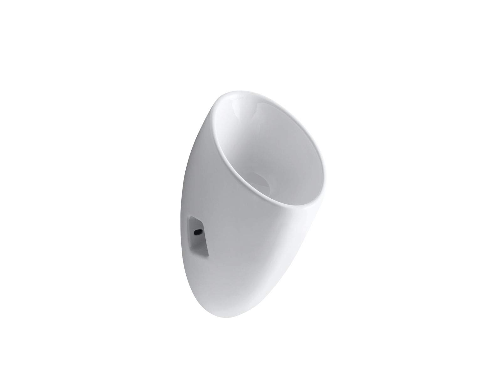 Kohler Steward Wall-Mount Waterless Urinal, White - K-4917-0
