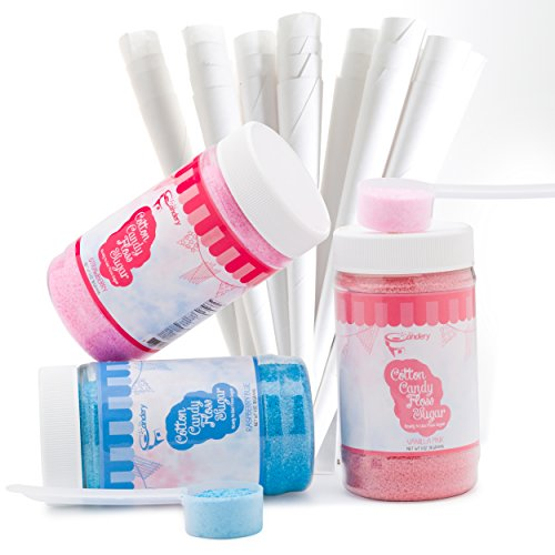 The Candery Cotton Candy Floss Sugar Kit