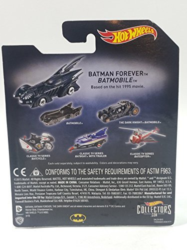 Hot Wheels Batman Premium Series Classic Batman TV Series Batcycle 1/50 Diecast - Series Classic Car