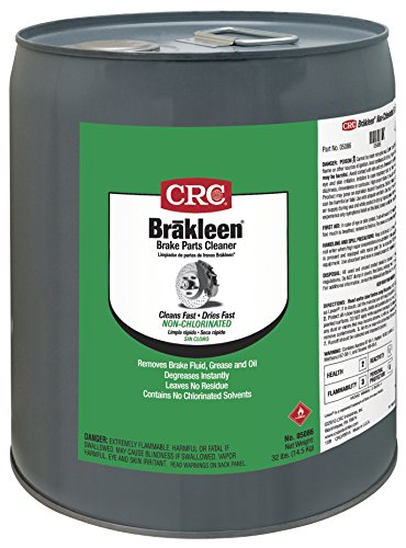 CRC 5086 Brakleen Brake Parts Cleaner, 5 Gallon by CRC