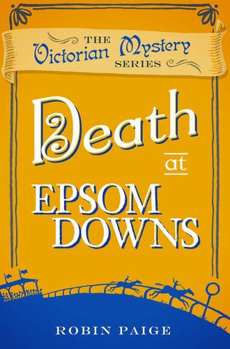 Book cover for Death at Epsom Downs