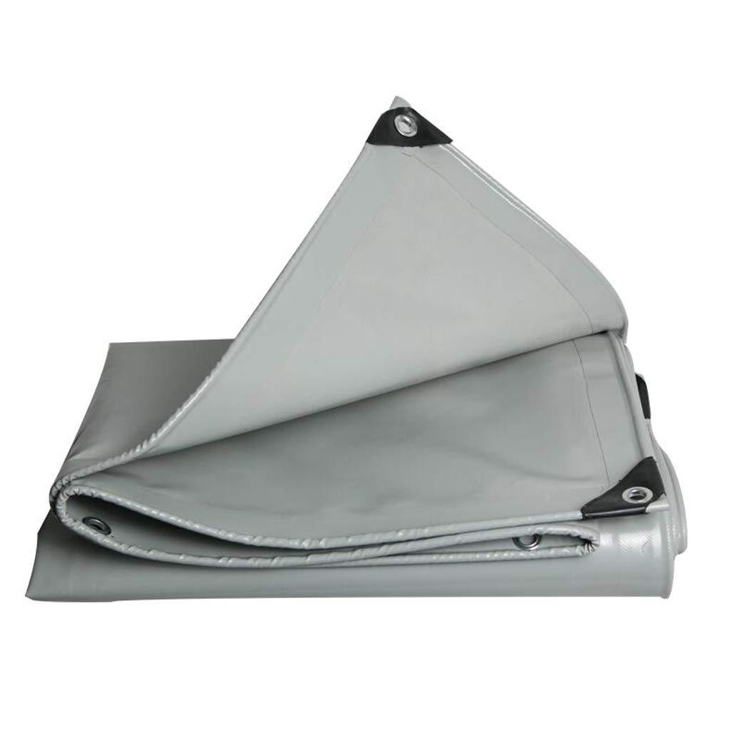 Plane Anti-Remote Sensing PVC Messer Scraping Tuch Regen Tuch Verdickung Wasserdichte Sonnenschutz Tuch Leinwand Push-Pull Top Tuch Grau Lostgaming