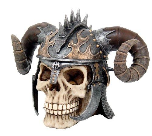 Fantasy Krieger Schädel - Totenkopf - FIGUREN