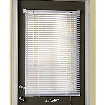 Amazon Com Easy Install Magnetic Window Blinds 25 Quot X 40