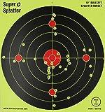 12-Bullseye-Super-Splatter-Targets-100-50-25-10-Packs-Creates-Huge-Super-Splatter-Spots-See-Your-Hits-Instantly