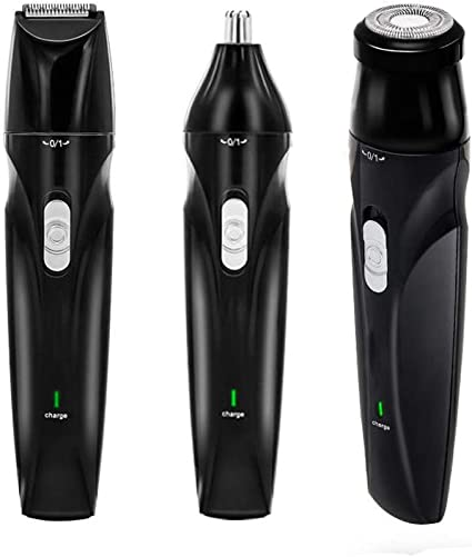 Set de cortadoras de cabello Recargable a prueba de agua eléctrico Cortador de pelo Kit de