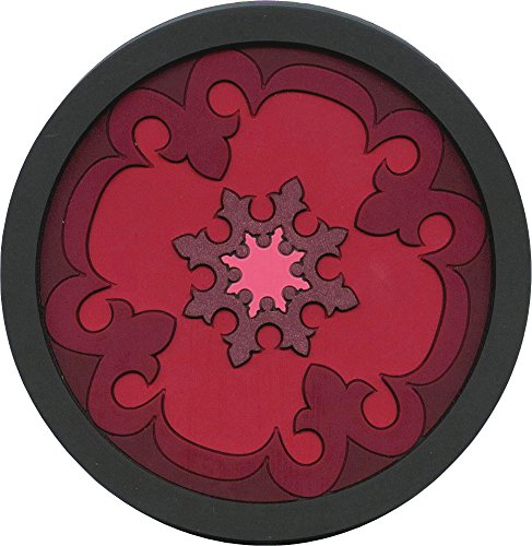 Images d'Orient Bottle Coaster, Sejjadeh Red by Images d'Orient