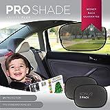 Baby Car Sunshade (2 Pack) Static Cling Sun Shade