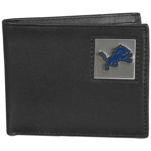 Nfl Detroit Lions Leather - NFL Detroit Lions Leather Bi-fold Wallet