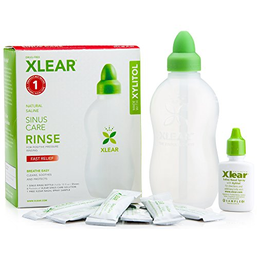 Sinus Rinse System (Xlear Sinus Care Rinse System With Xylitol -- 1 Kit)