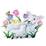 Collections Etc Easter Lamb Spring Outdoor Garden Stake Decoration