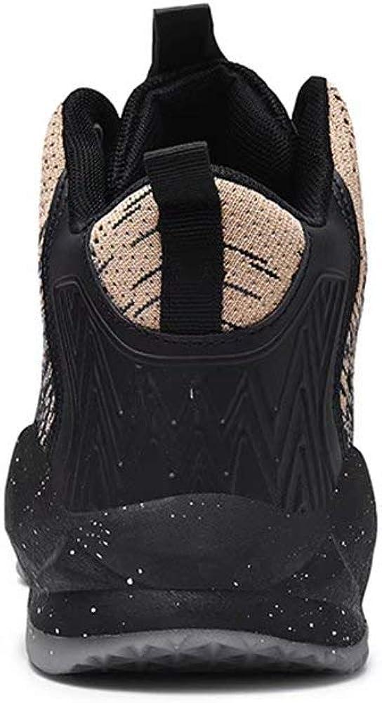 Chaussures De Basket Homme High-Top Lace Up Mode Sneakers L/ég/ères Antid/érapantes Dext/érieur Fitness Shoes