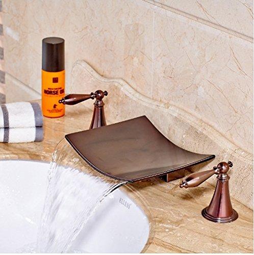 Gowe Unique Design Best Quality Wash Basin Sink Mixer Taps for Bathroom Oil Rubbed Bronze 3