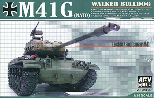 - Walker Bulldog M-41(G) NATO Tank 1-35 AFV Club