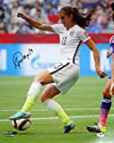 Alex Morgan Autographed 16x20 Photo Team USA PSA/DNA