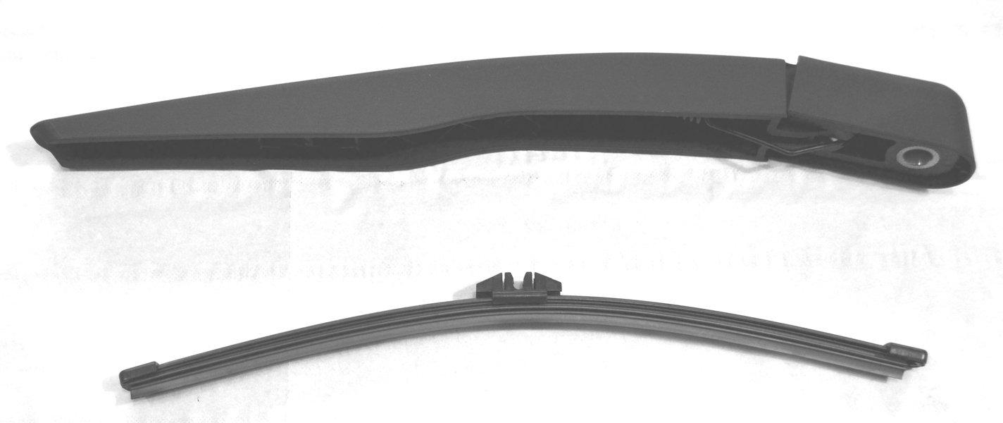 tergicristallo posteriore, e braccio RA315, 29 cm 29cm qeepei