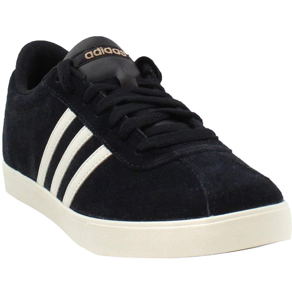 24b99529f3 Galleon - Adidas Women's Courtset Sneakers (7.5 B(M) US, Black/Chalk ...