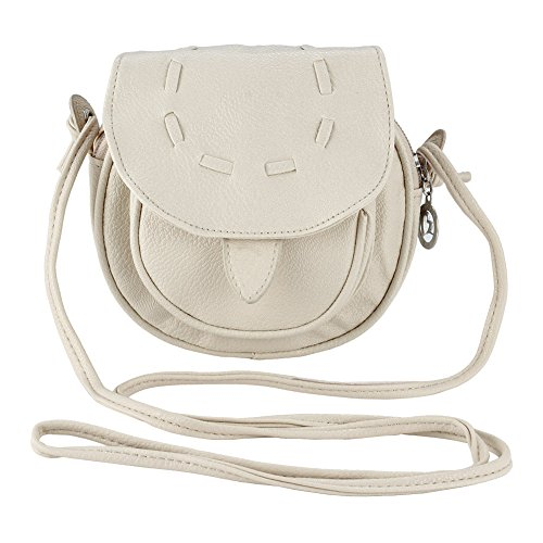 Shoulder Bag Women - Dxlta Mini Retro Leather Tote Bag Crossbody White Cream
