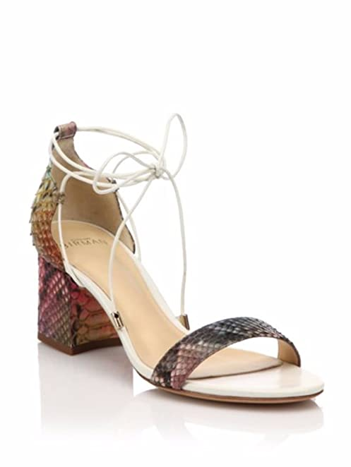 discount codes shopping online with mastercard Alexandre Birman Python Slingback Sandals sale outlet locations Y43KK2